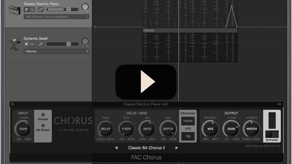 FAC Chorus macOS Preview