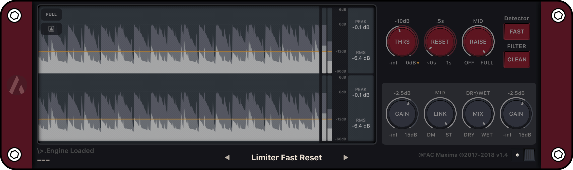 Fac Maxima Auv3 Plugin Fred Anton Corvest Logic Pro X Diagram Following The Below Sound Flows From Left To Right Or Input Output