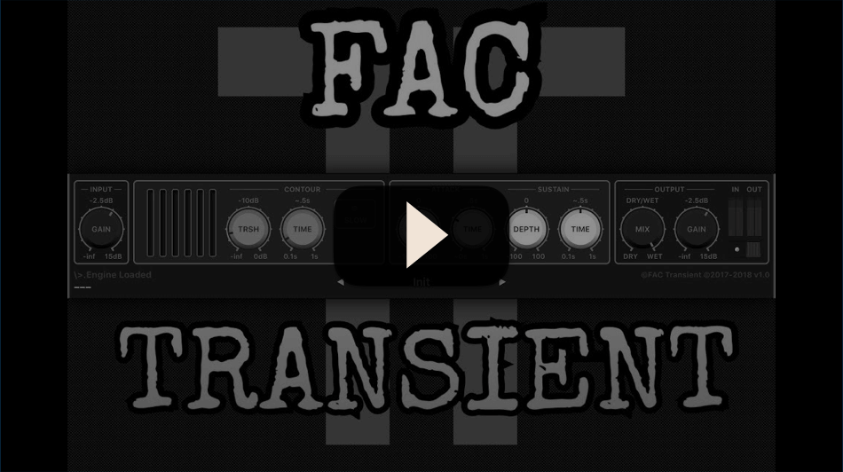 FAC Transient The Sound Test Room Preview